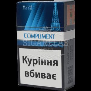 Купить Сигариллы Compliment Blue (синие) 50 блоков - фото 1