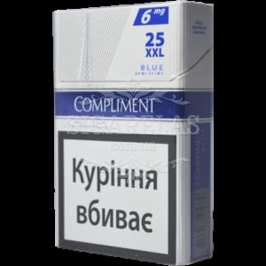 Купить Сигариллы Compliment Blue XXL 25 10 блоков - фото 1