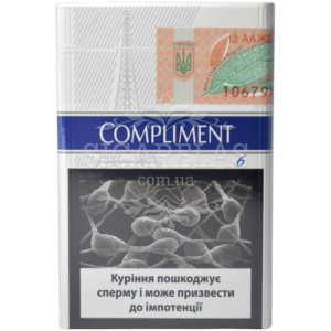 Купить Сигариллы Compliment Blue XXL 25 10 блоков - фото 5