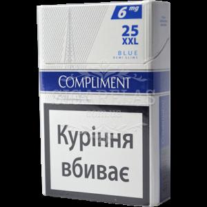 Купить Сигариллы Compliment Blue XXL 25 50 блоков - фото 5