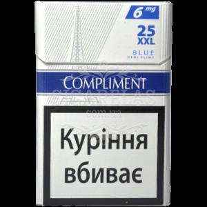 Купить Сигариллы Compliment Blue XXL 25 10 блоков - фото 7