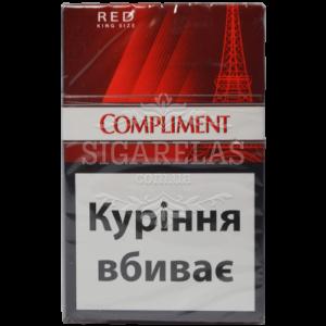 Купить Сигариллы Compliment Red (красные) 1 блок - фото 2