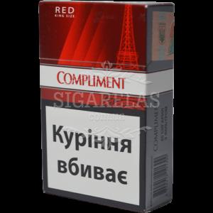 Купить Сигариллы Compliment Red (красные) 1 блок - фото 1