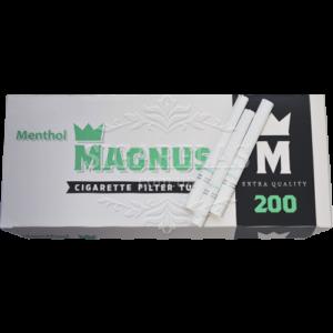 Купить Гильзы Magnus Mentol  200 шт в пачке - фото 1